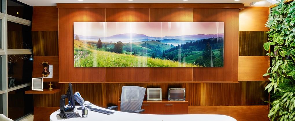 Interior Design: Modern elegant office
